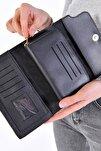 Kadın Siyah Cüzdan Czdn55 - F6 Adx-0000019896