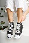 Unisex Keten Günlük Bilekli Spor Ayakkabı