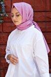 Kadın Violet Cotton Pamuk Şal Ck01