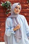 Kadın Sıcak Gri Cotton Pamuk Şal Ck01