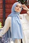 Kadın Bebe Mavi Cotton Pamuk Şal Ck01