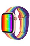 W26+ Watch 6 Plus Yeni Nesil Rainbow Türkçe Akıllı Saat Son Sürüm Yan Tuş Aktif