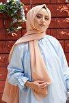 Kadın Somon Cotton Pamuk Şal Ck01