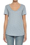 Kadın Mavi T-Shirt URB001