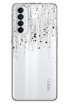 Reno 4 Pro Kılıf Pure Modern Desenli Silikon Cool Buzz
