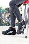 Unisex Siyah Bot Ayakkabı