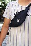 Unisex Lacivert Freebag Bel Çantası 8094