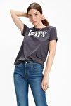 Kadın The Perfect Siyah T-shirt 17369-1328