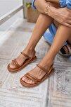 Kadın Taba Vegan Sandalet