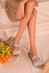 Mint Yeşil Kadın Sandalet 16057