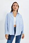 Mavi Boyfriend Gömlek TWOAW20GO0115