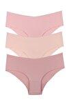 Sensu Kadın Lazer Kesim Micro Bikini Model Külot 3lü Paket Set