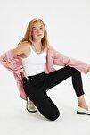 Siyah Yüksek Bel Skinny Jeans TWOSS20JE0301