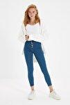 Mavi Önden Düğmeli Jegging Jeans TWOAW21JE0446