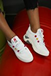 Kadın Beyaz Sneaker Ayakkabı
