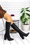 Kadın Siyah Cilt Çizme
