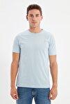 Mavi Basıc Erkek Slim Fit Pamuklu Kısa Kollu Bisiklet Yaka T-Shirt TMNSS19BO0001