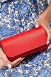 Kadın Kırmızı Abiye Portföy & Clutch El Çantası