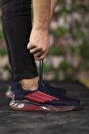 Lacivert Kırmızı Unisex Sneaker 0012340