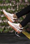 Beyaz Turuncu Unisex Sneaker 0012450