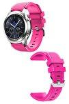 Samsung Gear S3 Frontier/classic - Gt/gt2 Spor - Samsung Galaxy Watch 3 45mm Silikon Kordon Kayış