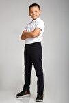 Spor Model Bej Likralı Canvas Okul Pantolon (gizli Bel Lastikli) Comender