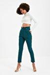 Petrol Çıtçıtlı Havuç Pantolon TWOSS20PL0131