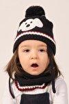 Çocuk Şapka Eldiven Boyunluk Seti