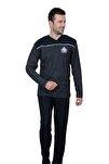Erkek Lacivert İnterlok Pijama Takımı Flk 2030