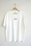 Erkek Beyaz Oversize T-shirt