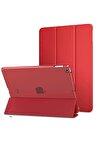 """Apple Ipad 8.nesil 10.2"""" Uyumlu Pu Deri Smart Case A2270 A2428 A2429 A2430 Rose Gold Kılıf"""