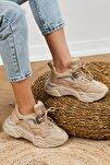 Kadın Bej Spor Ayakkabı Tb010