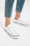 Kadın Beyaz Sneaker TAKSS21SN0008
