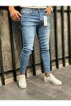 Erkek Skinny Fit Pantolon