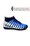 1453 Siyah Sax Çoraplı Halısaha Futbol Ayakkabısı