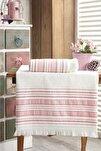 Banyo Havlu Takımı 70x140 - 50x90 Vip Koyu Pudra
