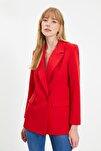 Kırmızı Klasik Ceket TWOSS20CE0059