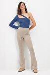 Vizon Flare Örme Pantolon TWOSS20PL0342