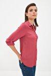 Gül Kurusu Basic Gömlek TWOAW20GO0218