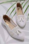 Beyaz Kadın Babet K01885010016