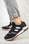 Unisex Siyah Turuncu Sneaker 0012863