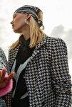 Siyah Kazayağı Blazer Ceket TWOAW20CE0201