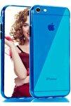 Apple Iphone 8 Kılıf Pastel Renkli Esnek Ince Şeffaf Kapak