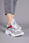 Gri Kadın Spor Ayakkabı Tb289