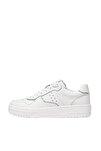 Kadın Beyaz Şeritli Spor Ayakkabı 19002570