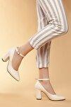 Vizon Kadın Klasik Topuklu Ayakkabı DXTRSWMNYK715