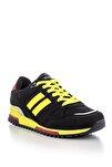 Siyah Sarı Unisex Sneaker TB282-0