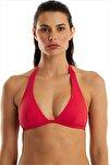 Kadın Kırmızı Bikini Üstü 63507/D2027