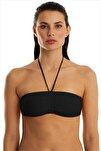 Kadın Siyah Bikini Üstü 63541