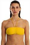 Kadın Sarı Bikini Üstü 63541